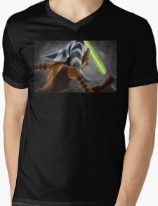 The Wrong Jedi Mens V-Neck T-Shirt