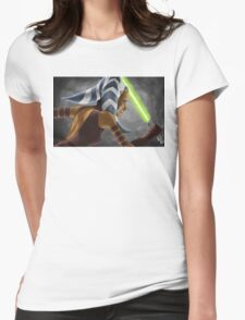 The Wrong Jedi Womens Fitted T-Shirt