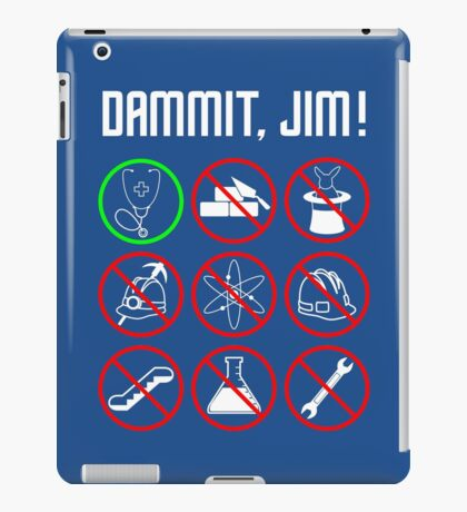 Star Trek: Just a Country Doctor iPad Case/Skin