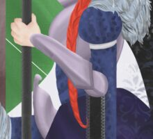 Knight of Wands Sticker