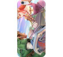 Super Smash Bros. Link and Zelda iPhone Case/Skin