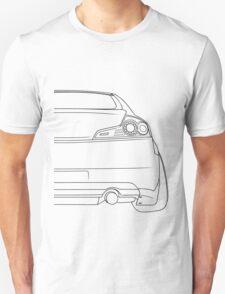 G35 rear outline - black Unisex T-Shirt