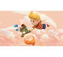 Super Smash Bros. Lucas and Claus Photographic Print