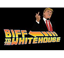 Biff To The White House Photographic Print