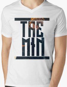 TAEMIN Mens V-Neck T-Shirt