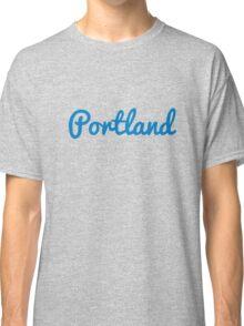 Portland - LIGHT BLUE Classic T-Shirt