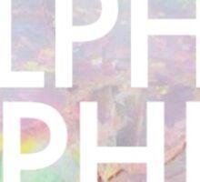 Opal Alpha Phi Sticker