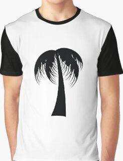 Palm Tree Silhouette Graphic T-Shirt