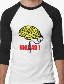 Brain to unload Men's Baseball ¾ T-Shirt
