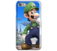 Super Smash Bros. Luigi iPhone Case/Skin