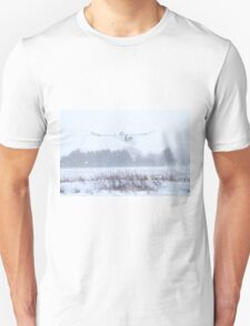 Snowy in a snow storm Unisex T-Shirt