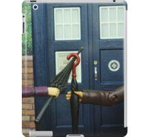 Dueling Umbrellas iPad Case/Skin