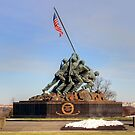 Marine Corps War Memorial by Clark Thompson