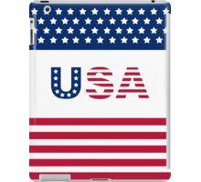 USA basic Type iPad Case/Skin