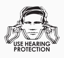 Use Hearing Protection (Factory)  Baby Tee