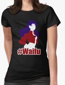 Misato Is My #Waifu Womens Fitted T-Shirt