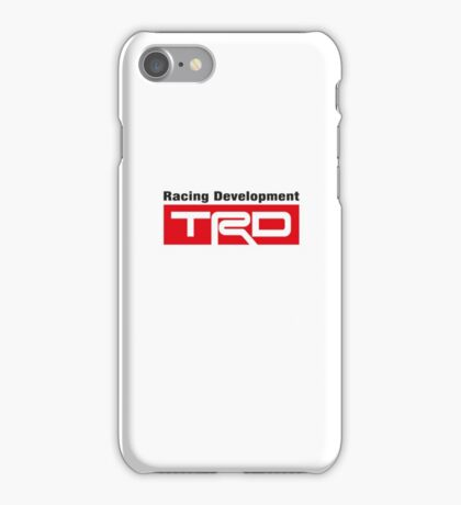 TRD - Toyota Racing Developments Phone Case iPhone Case/Skin