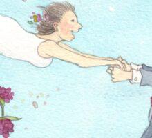 Wedding whirl Sticker