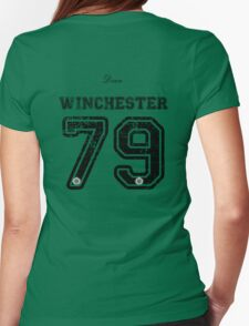 Team Dean Winchester Womens Fitted T-Shirt