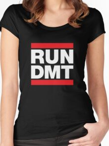 RUN DMT Women's Fitted Scoop T-Shirt