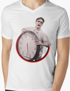 It's Time To Stop - Tee Print Mens V-Neck T-Shirt