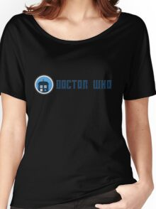 Doctor Who - Logo Women's Relaxed Fit T-Shirt