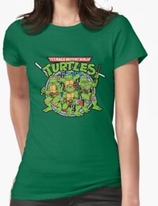 Teenage Mutant Ninja Turtles - Classic Womens Fitted T-Shirt
