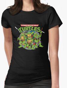 Teenage Mutant Ninja Turtles - Classic Womens Fitted T-Shirt