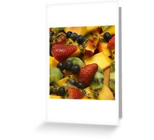 Summer Fresh Greeting Card