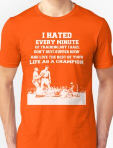 boxing quotes T-Shirt