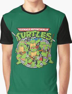 Teenage Mutant Ninja Turtles - Classic Graphic T-Shirt