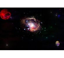 red planet galaxy  Photographic Print