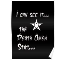 Anime - death omen star Poster