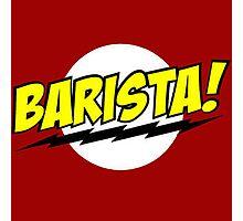 Barista Coffee Photographic Print