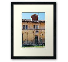 Derelict Friulian Agricultural Building Framed Print