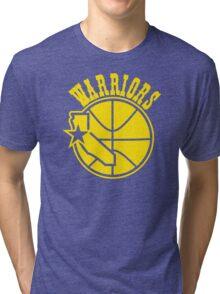 golden state warriors Tri-blend T-Shirt