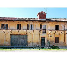 Derelict Friulian Agricultural Building Photographic Print