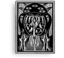 Virgins Enter the Mouth of the Demon Canvas Print