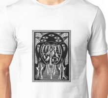 Virgins Enter the Mouth of the Demon Unisex T-Shirt