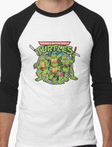 Teenage Mutant Ninja Turtles - 1987 Men's Baseball ¾ T-Shirt