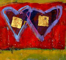 2 Hearts Couched as 1 by Gregory Burns