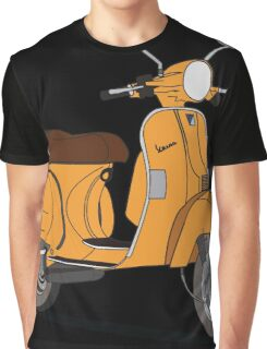 Vespa PX 150 Orange Graphic T-Shirt