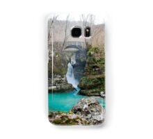 Waterfall on Kozjak River Samsung Galaxy Case/Skin