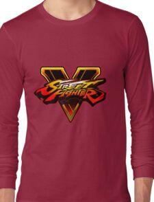 Street Fighter 5 Logo Long Sleeve T-Shirt