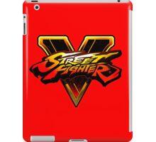 Street Fighter 5 Logo iPad Case/Skin