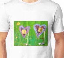 2 Hearts Golfing as 1 Unisex T-Shirt