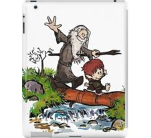 Bilbo and Gandalf Inspired Calvin And Hobbes iPad Case/Skin