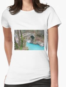 Napoleon Bridge in Slovenia Womens Fitted T-Shirt