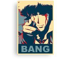 Cowboy Bebop - Bang - Spike Spiegel Canvas Print