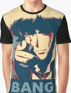 Cowboy Bebop - Bang - Spike Spiegel Graphic T-Shirt